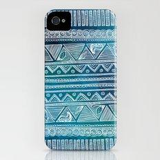 Hippie Pattern iPhone (4, 4s) Slim Case