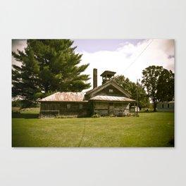 School house Rock.  Canvas Print