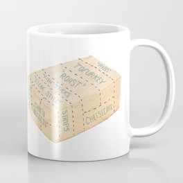 Tofu Cuts Coffee Mug