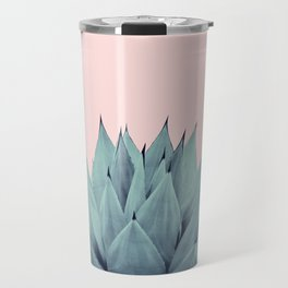 Agave Blush Summer Vibes #1 #tropical #decor #art #society6 Travel Mug
