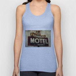 Vintage El Sombrero Motel Sign Unisex Tank Top