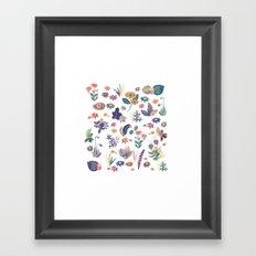 Nature all over Framed Art Print