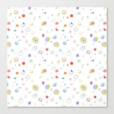space pattern Canvas Print