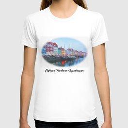 The Quay at Nyhavn, Copenhagen, Denmark T-shirt