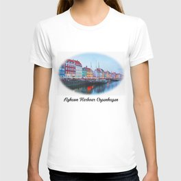 The Quay at Nyhavn, Copenhagen, Denmark T-shirt