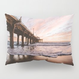 MANHATTAN BEACH PIER Pillow Sham