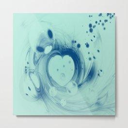 Heart glow Metal Print