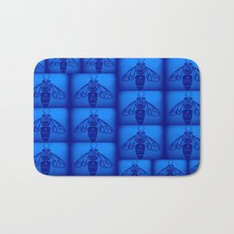 Blue Collar Workers Bath Mat