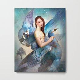 Sky Dancers Metal Print