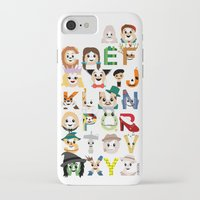 oz iPhone & iPod Cases featuring Oz-abet (an Oz Alphabet) by Mike Boon