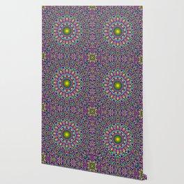 Bohemian Mandala Ornament Wallpaper
