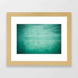 Aquatic Mosaic Framed Art Print