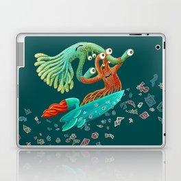 Surfing Monsters Laptop & iPad Skin