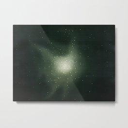 Star clusters in Hurcules by Etienne Leopold Trouvelot Metal Print