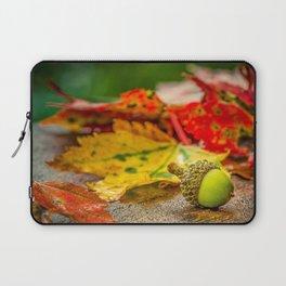 Autumn Leafs (Color) Laptop Sleeve