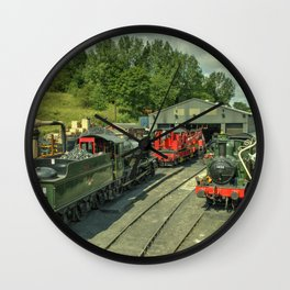 Bridgnorth Depot Wall Clock