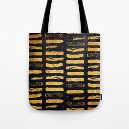 Gold Foil Paint Brush #3 Tote Bag