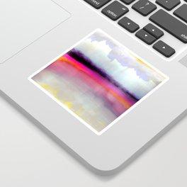Pink Silver Sticker