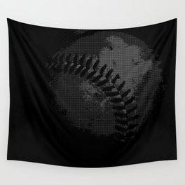 Baseball Illusion Wall Tapestry