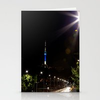 seoul Stationery Cards featuring Seoul Tower by Marisa Johnson :: Art & Photography
