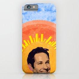 Angelic Paul Rudd iPhone Case