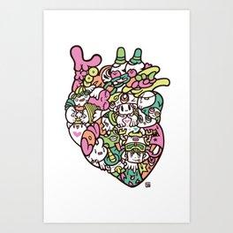 KOKORO - HEART Art Print