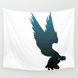 Blue Angel Wall Tapestry