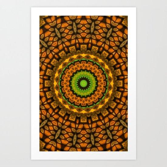 Tuesday Kaleidoscope Art Print