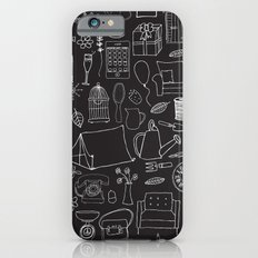 Simple things negative iPhone 6 Slim Case