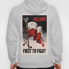 Poland First To Fight Hoody