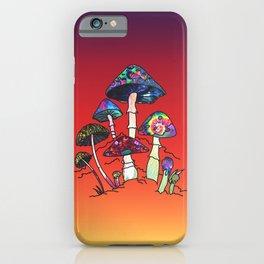 Garden of Shroomz iPhone Case