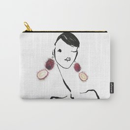 Edible Ensembles: Lychee Carry-All Pouch