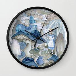 Alice in Wonderland - The Caterpillar Wall Clock