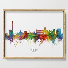Carlisle England Skyline Serving Tray