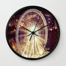 Ferris Wheel  Wall Clock