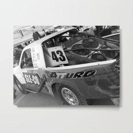 Track Noir TORC #7 Metal Print