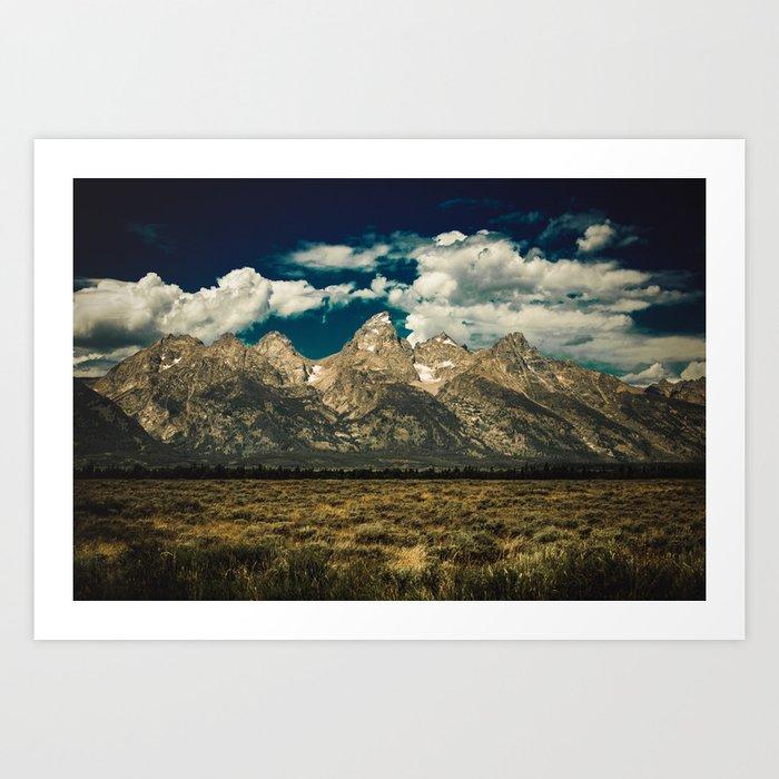 Mountain Summer Escape Art Print