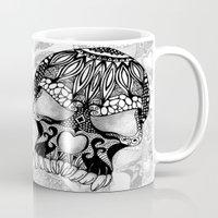 sugar skull Mugs featuring Sugar Skull.  by Digi Treats 2