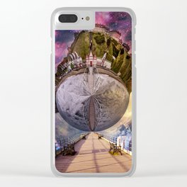 Interstellar Stroll Clear iPhone Case