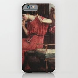 John William Waterhouse - Penelope and the Suitors iPhone Case