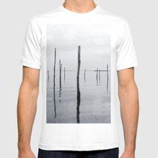 Reflections Mens Fitted Tee White MEDIUM