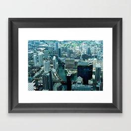 SKYDECK  Framed Art Print