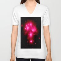 constellation V-neck T-shirts featuring constellation : 7 Sisters of Pleaides by 2sweet4words Designs