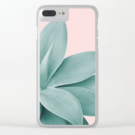 Agave Finesse #3 #tropical #decor #art #society6 Clear iPhone Case
