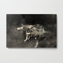 The tribesmen Metal Print