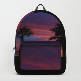 Palm Sunset - 7 Backpack