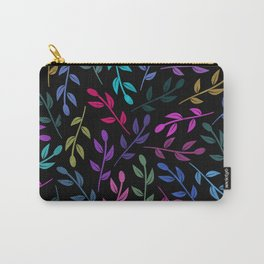 Colorful Leaves V Carry-All Pouch
