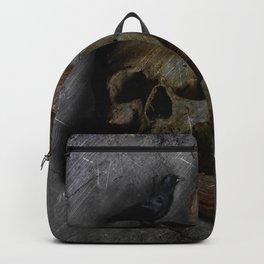 Vintage Skull Backpack