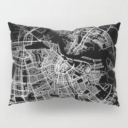Amsterdam map Pillow Sham