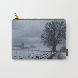 Foggy winter day II Carry-All Pouch